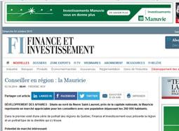 Conseiller en région : la Mauricie